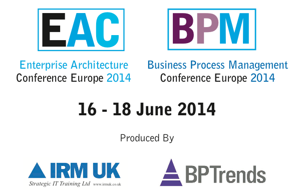 EAC BPM 2014 conference logo